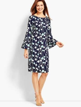 Talbots Print Blossoms Shift Dress
