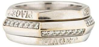 Piaget 18K Diamond Band Ring