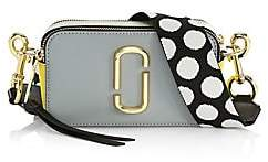 Marc Jacobs Women's The Snapshot Coated Leather Camera Bag