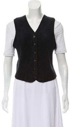 Ralph Lauren Ribbed Knit Vest