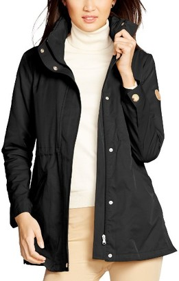 Women's Lauren Ralph Lauren Stowaway Hood Drawstring Waist Anorak $180 thestylecure.com