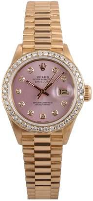 Rolex Lady DateJust 26mm yellow gold watch