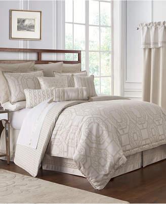 Waterford Reversible Lancaster 4-Pc. California King Comforter Set
