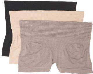 3pk Seamless Thigh Slimming Shapewears