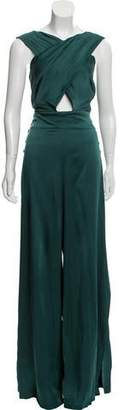 Temperley London Sleeveless Wide-Leg Jumpsuit w/ Tags