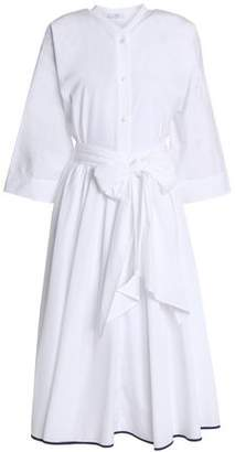 Tome Bow-detailed Cotton-poplin Shirt Dress