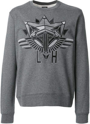 Les Hommes embroidered sweatshirt