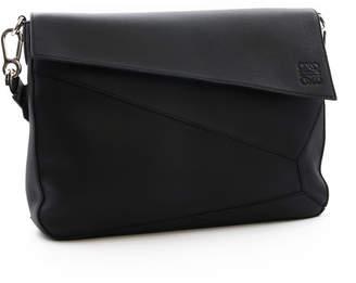 Loewe Puzzle Messenger Bag Black