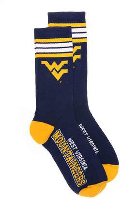 FBF Originals University of West Virginia Crew Socks - Men's