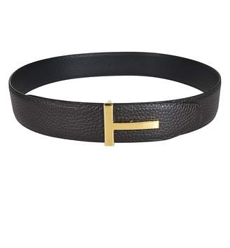 Tom Ford Metallic T-buckle Belt