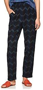 Ace&Jig Women's Gatsby Chevron Striped Cotton Pants