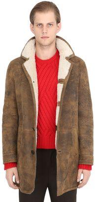 Vintage Effect Shearling Coat $3,237 thestylecure.com