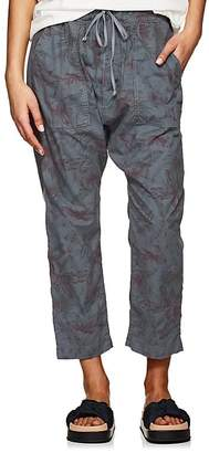 NSF Women's Jojo Floral Cotton Drop-Rise Pants