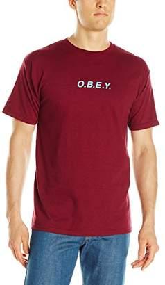 Obey Men's Logo T-Shirt