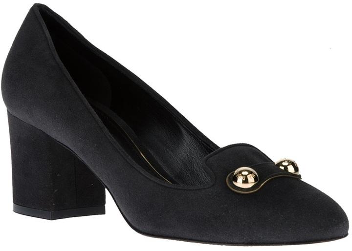 Dolce & Gabbana rivet detail pump