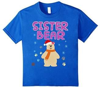 Sister Bear Christmas Costume T-Shirt Funny Gift Shirt