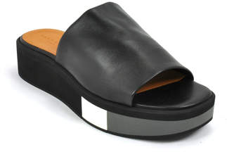 Robert Clergerie Quenor - Leather Wedge Slide