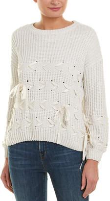 Etienne Marcel Lace-Up Sweater