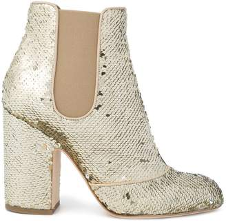 Laurence Dacade Mila sequin ankle boots