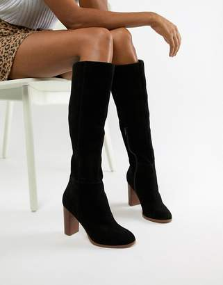 Asos DESIGN Chase Suede knee high boots