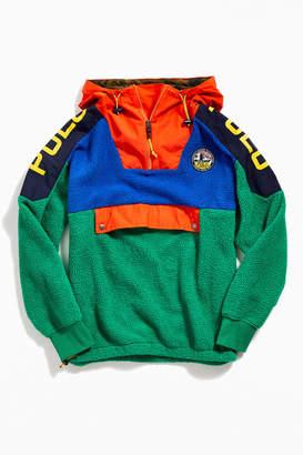 Polo Ralph Lauren Colorblock Fleece Hoodie Sweatshirt