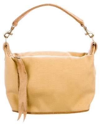 MZ Wallace Suede-Trimmed Handle Bag