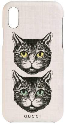 Gucci iPhone X/XS case with Mystic Cat