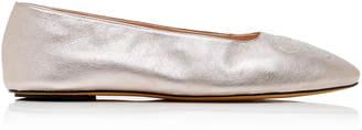 Bally Ballyrina Leather Flats