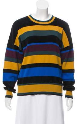 Jason Wu Grey by Striped Long Sleeve Sweater