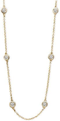 """Effy Trio by Diamond Seven Station 16-18"""" (1/2 ct. t.w.) in 14k Gold, White Gold or Rose Gold"""