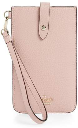 Kate Spade Leather Smartphone Wristlet