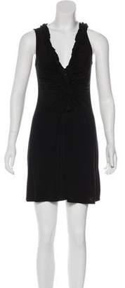 Ella Moss Ruffled V-Neck Dress