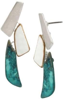 Robert Lee Morris Soho Linear Drop Earrings