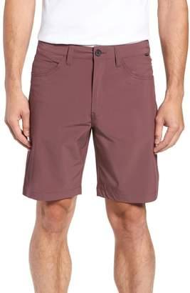 Travis Mathew Seatac Regular Fit Stretch Shorts