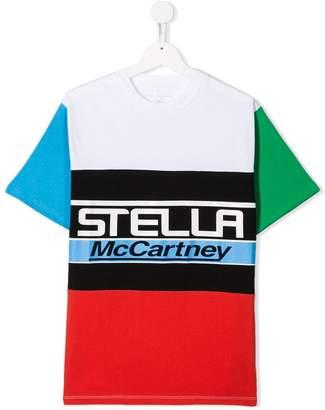 Stella McCartney TEEN logo print T-shirt