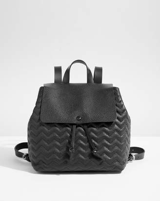 35076606b Jigsaw Blake Quilted Leather Backpack