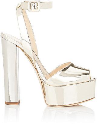 Giuseppe Zanotti Women's Bi-Color Platform Sandals $795 thestylecure.com