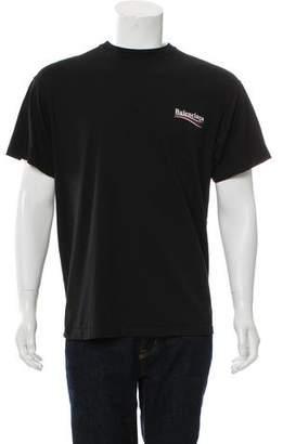 Balenciaga 2017 Campaign Print T-Shirt
