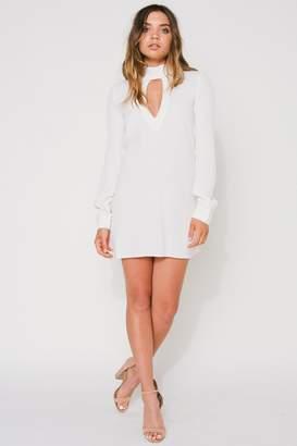Flynn Skye Leah Mini Dress - White