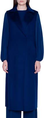 Akris Cashmere Double-Face Longline Vest