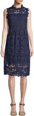 Kate Spade Bicolor Lace Midi Dress