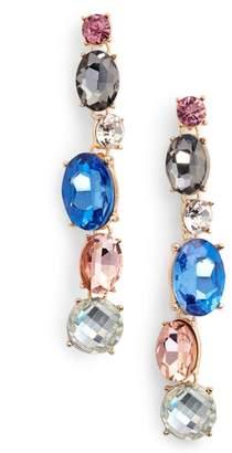 Adia Kibur Crystal Linear Earrings