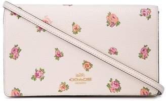 Coach floral print mini bag