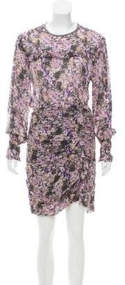 Etoile Isabel Marant Printed Chiffon Dress