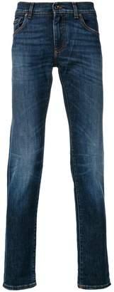 Dolce & Gabbana slim-fit appliquéd jeans