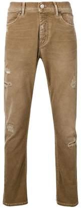 Jeckerson distressed slim jeans