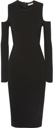 Michael Kors Collection - Cutout Jersey Dress - Black $1,195 thestylecure.com