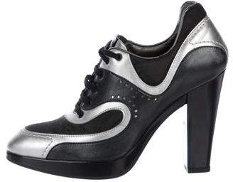 Hogan High-Heel Sneaker Pumps