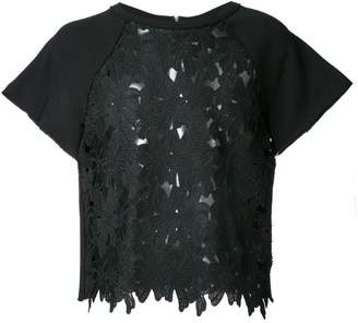 Marna Ro floral lace T-shirt