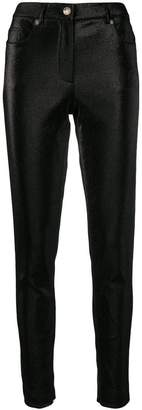 Moschino skinny fit trousers